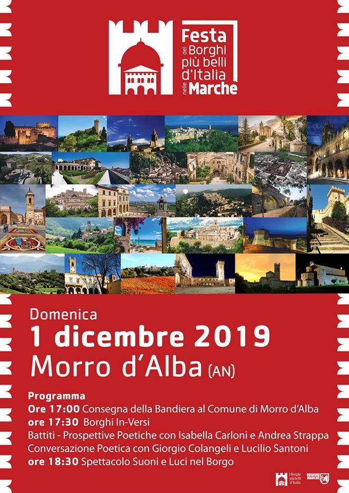 Festa dei Borghi più belli delle Marche – Domenica 1 Dicembre