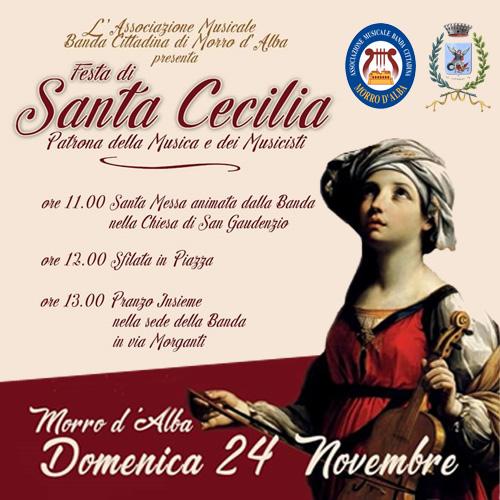 FESTA DI SANTA CECILIA – 24 novembre